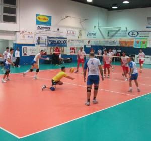 Una fase del precedente match tra Ottica Sottile e Pallavolo Messina (foto Maddalena Galeano)