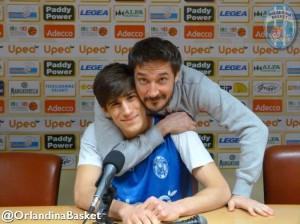 """Il """"Poz"""" abbraccia in conferernza Laquintana"""