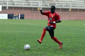 Il senegalese Modou Seck in azione (foto Giovanni Isolino)