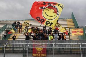 I sostenitori del Messina a Melfi