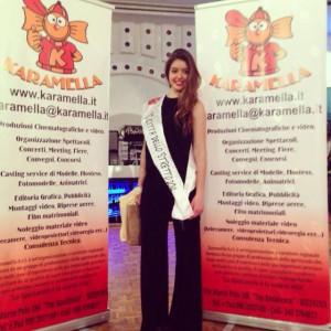 """Chiara Ferrara, """"Miss Città dello Stretto"""" (www.karamella.i)"""