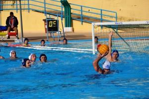 Fase di gioco Ossidiana-WP Palermo2