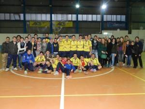 Foto di famiglia per il Savio Calcio a 5