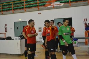 Giocatori Futsal Peloro Messina
