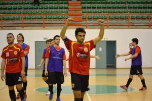 Gioia giocatori Futsal Peloro Messina