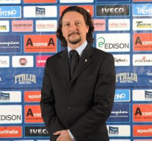 Il presidente Fip Sicilia Antonio Rescifina