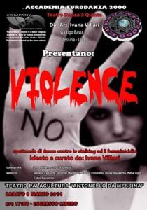 """La locandina di """"Violence"""""""
