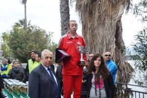 Premiazione Natale Grosso (vincitore)