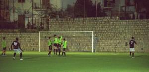 La perfetta punizione con cui Ghartey ha sbloccato la gara con lo Sporting Taormina.