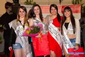 da sinistra Milena Irato, Samantha Giardina, Vanessa Milazzo e Federica Carmelita.