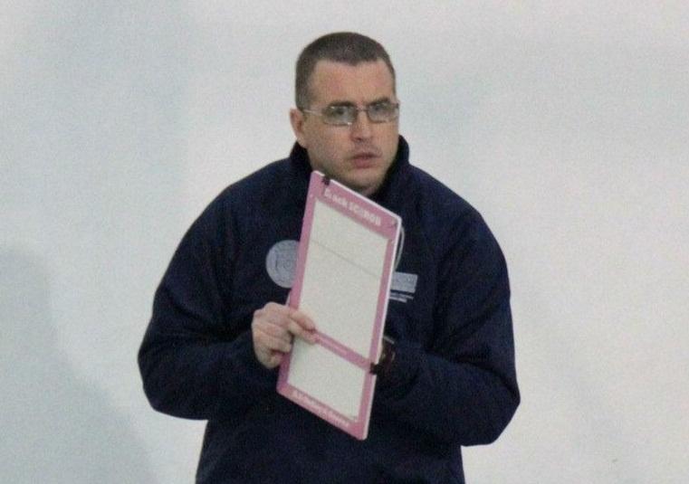 Roberto Scala, allenatore del Santa Teresa Volley (Sere D).
