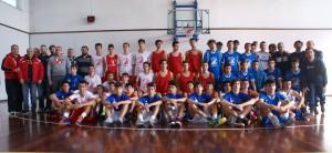 Il folto gruppo di partecipanti al torneo riservato ai classe '99