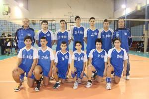 La squadra Under 15