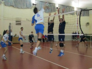 Volley Letojanni-Ottica Sottile Barcellona, una fase del match