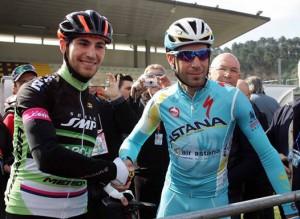 Antonio e Vincenzo Nibali a Camaiore (foto P.Delmati)