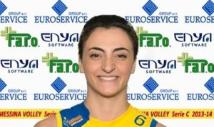 Stefania Criscuolo del Messina Volley