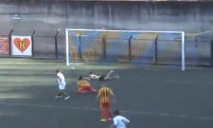 Tiger-Igea Virtus 4-0. Il gol di Biondo