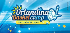 Manifesto dell'Orlandina Basket Camp