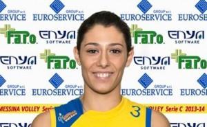 Alessandra Rando del Messina Volley