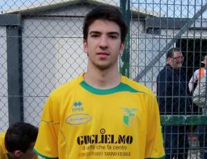 Giuseppe Vaccaro, match-winner della Desport Gaggi (scatto di R.S.)