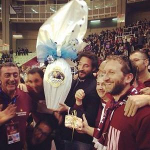 """Il """"Poz"""" regala un uovo di Pasqua ai tifosi di Trapani"""