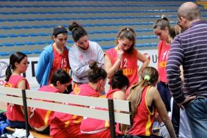 Un time out della Sicilia di coach Recupido