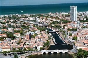 Una veduta di Rimini, sede dell'edizione 2014 del Trofeo delle Regioni