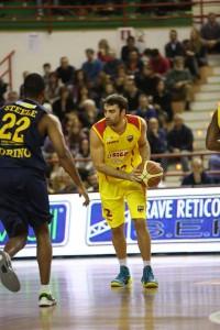 Demian Filloy ha realizzatoo 11 punti sul campo di Veroli