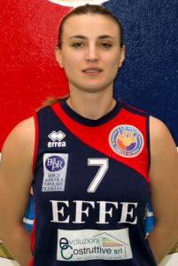 Andreea Serban, schiacciatrice della Effe Volley
