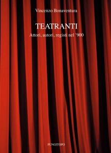 """La copertina di """"Teatranti"""""""