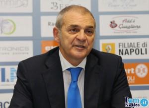 Massimo Bianchi (Napoli) in conferenza stampa