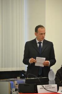 Il presidente del comitato organizzatore, Antonello Aliberti