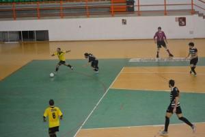 Fase di gioco Futsal Peloro Messina-Nissa Futsal