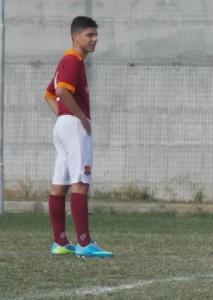 Andrea Graziano, attaccante del Messina Sud