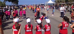 Giovani Atlete in campo