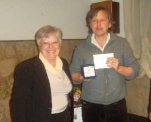 Il vincitore Stanislav Khudovekov