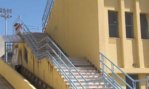La rampa d'accesso alla Tribuna