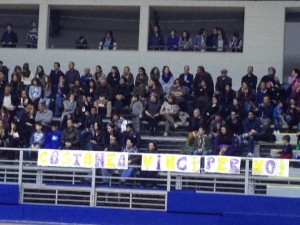 Il pubblico del PalaRussello che ha assistito alla gara due di finale