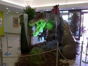 Mostra Dinosauri Centro Comm.le Tremestieri