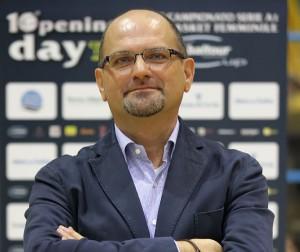 L'allenatore della Nazionale Roberto Ricchini