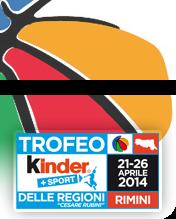 Il logo del Trofeo delle Regioni Kinder Sport 2014