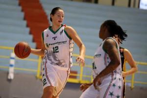 L'ucraina Olesia Malashenko (Ragusa) è stata la migliore realizzatrice dell'incontro con 22 punti