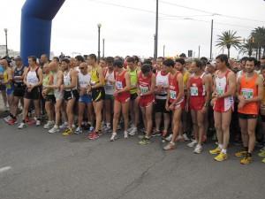 Una partenza delle scorse edizioni della Messina Marathon