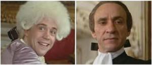 Mozart e Salieri nel film Amadeus