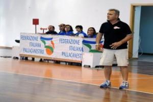 L'allenatore Pippo Sidoti verrà coinvolto nel progetto di rilancio della pallacanestro i
