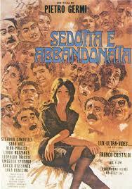 """locandina del film """"Sedotta e abbandonata"""""""