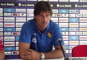 A Gubbio un'altra significativa tappa della sua carriera da allenatore