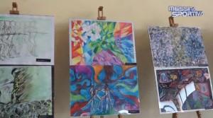Alcune delle opere esposte