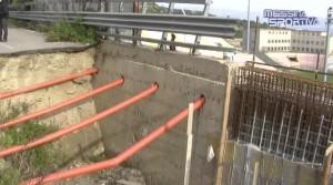La struttura è stata riedificata e rinforzata per scongiurare nuovi cedimenti dopo quello fragoroso del maggio 2011