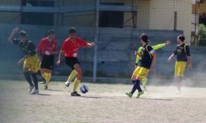 Manuel D'Angelo sulla palla (scatto di R.S.)